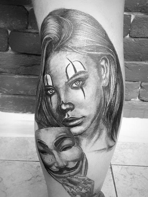 #blackandgrey #tattooworkers #chicano #tattooartist