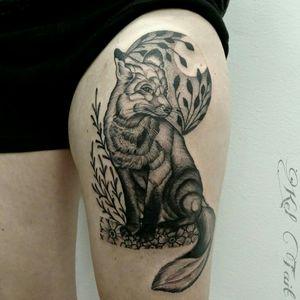 Tattoo by Kel Tait