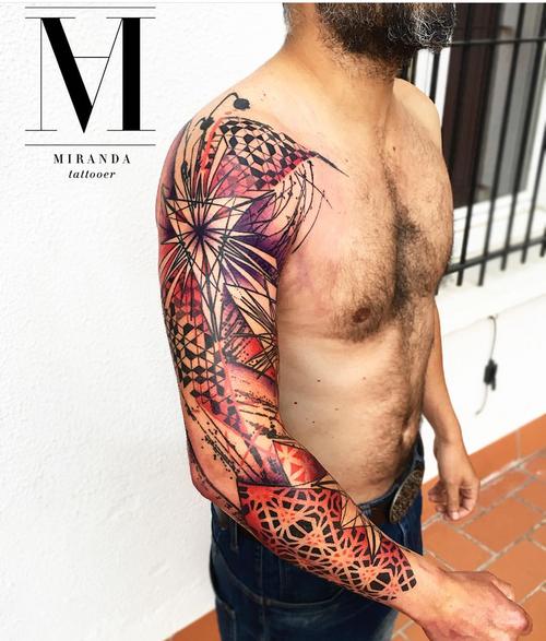 #Milano #MilanoCity #color #abelmirandatattoo #psychedelic #geometric #dotwork #geometrictattoo #puntillismo #tattoo #tattoos #tattooink #tattooart #tattoodo #tattooist #lovetattoos #tattoolife #ink #inkaddict #inkedup #skin #skinart #instagramers  #sacred #tattoodo #tattooist #tattooing ##avantgarde