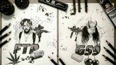 #suicideboys #ftp #fakthepopulation #g59 #greyfivenine #scrim #ruby
