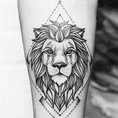 The king #Leon #tattooapprentice