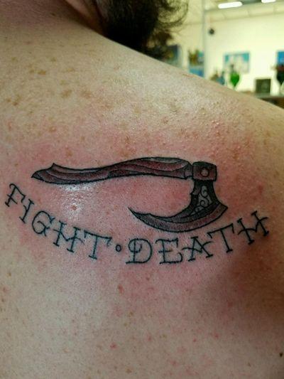 #viking #axe #FightDeath #DiamondThieves
