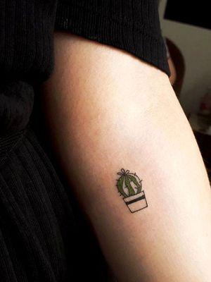 #cacto #tattooart #smalltattoo #smalltattoos #tattoominimalism