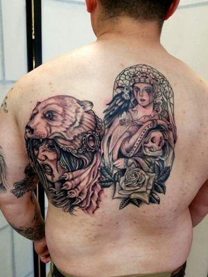 #alaskatattoos #blackandgreytattoo #blackngreysociety @alaskatattoos @AndrewTatCarlson #tattoodo