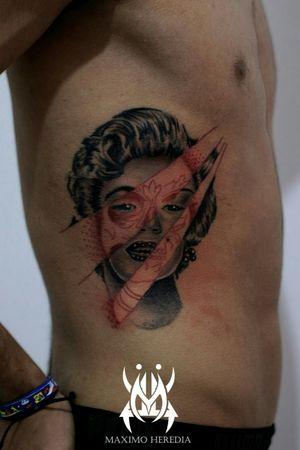 #marilynmonroe #trashpolkatattoo #tattoooftheday