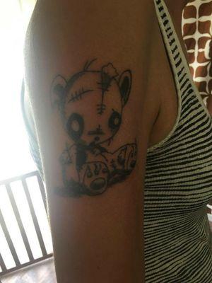 Voodoo Teddy bear
