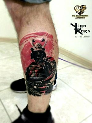 Samurai #vladkorntattoo #kiev