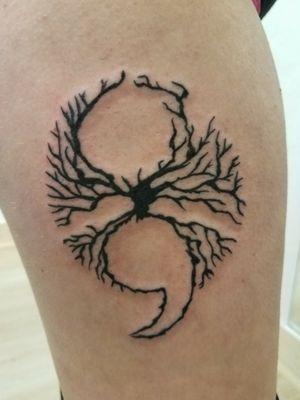 #treeoflifetattoo #SemicolonProject #SemiColon #tattooapprentice