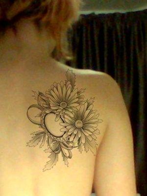 Tattoo idea #marigold #opal #blackandgrey #drawing #photoshop