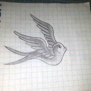#birdtattoo  #bird  #swallowtattoo  #swallow