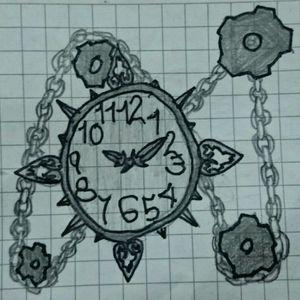 #clocktattoo #chain #tattoodrawing