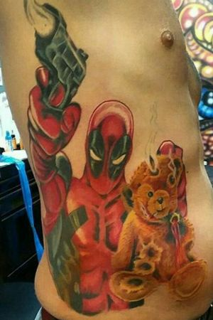 #Deadpool #MarvelTattoos
