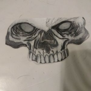 #idrewthis  #skull #like4like  #ideas #shading #drawing #sketch