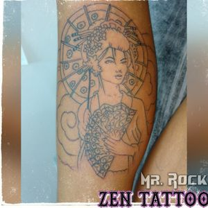 Tattoo by Zen Tattoo Taquaritinga