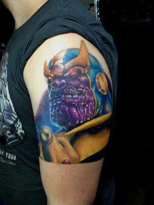 Trabalho feito no evento TattooWeek #MarvelTattoos #MarvelTattoo #marvel #thanos #thanostattoo #civilwar #comics #stanlee #tatuagem #tatuagemcolorida #tatuagensrealistas #tattoostyle #inkedup #inked #electricinkproteam #electricinkbrasil #analiafranco #ink #tatuajes #miamitattoos