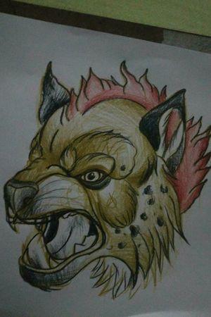 Estudo Hyena #sketch #neotrad #study #hyena