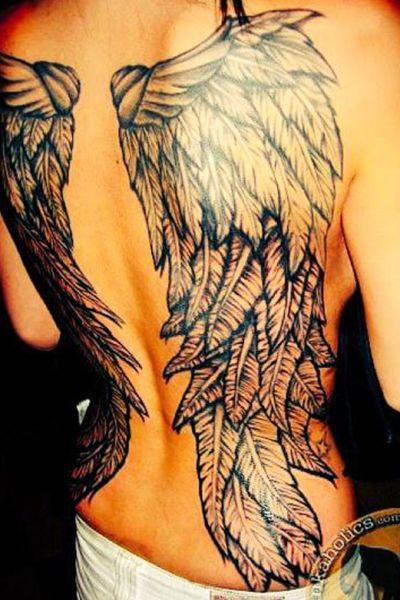 #angel #wings #backtattoo