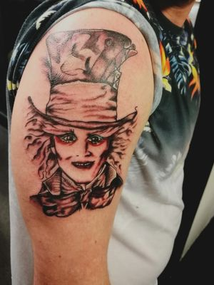 #madhatter #madhatterday #madhattertattoo #johnnydepp #tattoolife #tattoos #tattooartist #bristol#bristolartist #staplehill#studio #carlanorley