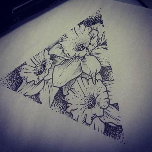 #flowertattoo #daffodil #daffodiltattoo #dotworktattoo #blackandgreytattoo