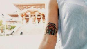 Osu Kannon Tattoo by Sabado