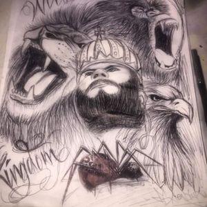 Wild kingdom from the pen sketchbook