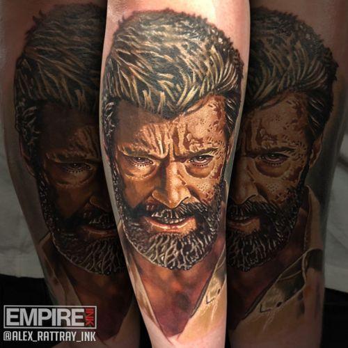 @alex_rattray_ink did this portrait of old man Logan last week. Such a fun piece #tattoo #tattoos #tattoostudio #edinburgh #edinburghtattoo #tattooedinburgh #tattooscotland  #ink #tattooartist #instatattoo #tattooart #tattoosofinstagram #inkedup #tattoolife #realism #tattoomagazine #tattooartwork #tattooaddicts #tattoolove #realistictattoo #topclasstattooing #amazingink #eternalink #stencilstuff #barberdts #inkjecta #logan #xmen