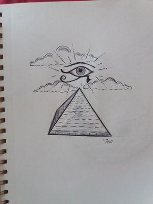 Eye of horus design