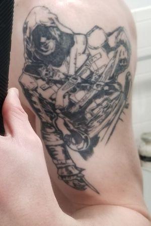 My Assassin's Creed Black Flag tattoo.