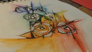 Colors are in... . . . #tattooart #tattoodesigner #watercolortattoo #watercolor #chakrastattoo #chakras