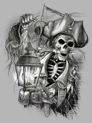 Pirate Idea. #pirate #PiratesoftheCaribbean