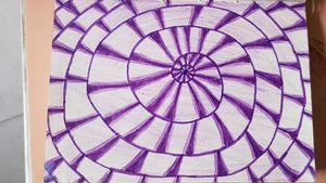 Infinite spiral  #infinite #spiral #violet #purple #spiraltattoo