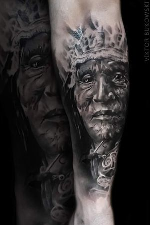 #India #indiantattoo #tattooed #forearmtattoo #realistic #worldfamousink #inked #portrait #slovakia
