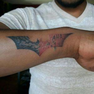#batmantattoo logo #eternalinks #tattooartist #orlynlobo