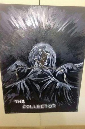 #film #thecollector #megaFilm #gemalde #malen #acryl #artistic #artist #germantattooers #hellotattoomed #suprasorb