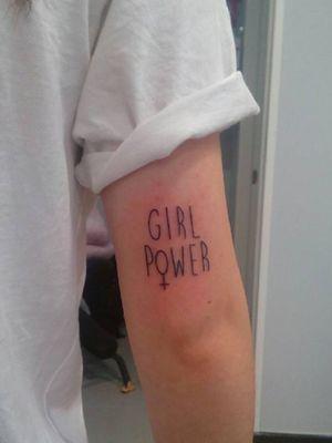 Girl power #girlpower #linework #letters