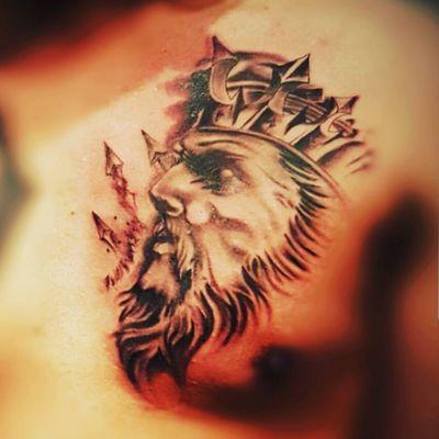 #Poseidon #Dinink tattoo studio