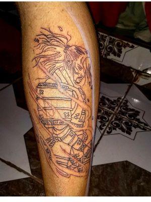 Executado pelo tatuador Leonardo Lorran Samurai , oriental