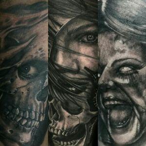 #tattoo #tattoosp #tattoolovers #tattootime #tattoolife #darkart #macabreart #morbidart #horrorart #sp #011 #bnginksociety #blackandgreytattoo #blackandgrey #ink #inked #tattoocommunity #tattoopins #blackwork #tatuagem #sptattoo #tattooflash