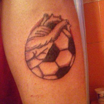 #footballtattoo #Football