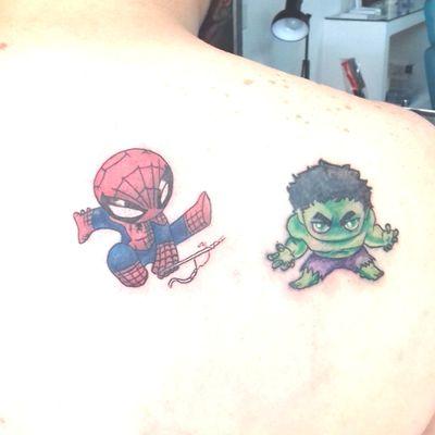 #avengers #Hulk #spiderman