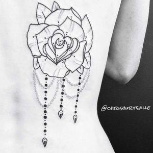 Decorative rose.