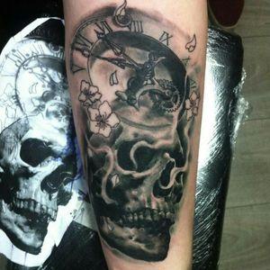 Calavera #skull #skulltattoo #viñadelmar