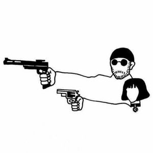 #blackandwhitetattoo #LeonTheProfessional