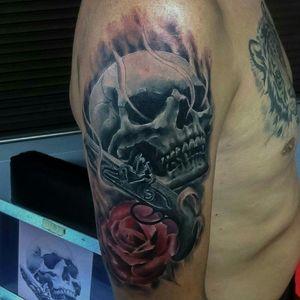 Calavera #skull #skulltattoo #tatuaje #calavera