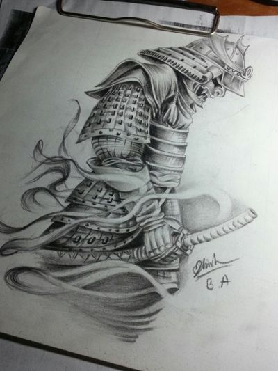 Samurai tattoo #samuraitattoo #samurai #japanesetattoo #japanese #tattooart