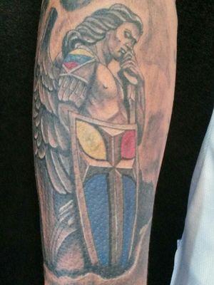 San miguel arcangel #tattooart #venezuela #brasiltattoo
