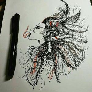 #sketchtattoo #DarkTattoos