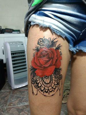 Rosa ornamental