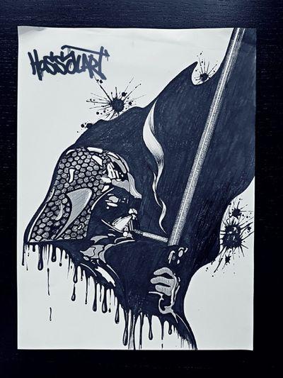 #starwars #drawing #HossalArt #darthvader