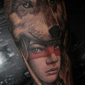 #freehand #tattoo #tattoos #tatoodo #monster #devil #evil #eyes #satan #fromhelltattoo #fromhell #texture #tattoolife #tattooer #tattooart #tatuaje #tattooartist #inked #ink #skinart #art #artist #blackandgrey  #bodyart #nativeamericantattoo #wolf #wolftattoo